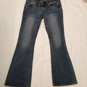 American Eagle Artist Stretch Low Rise Jeans 4